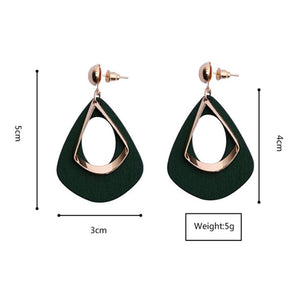 Vintage women fashion statement earrings