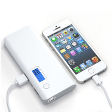 50000mAh Portable Dual USB Power Bank External Battery Pack with LED light