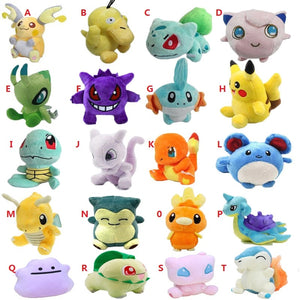 20 Styles Plush Toy 12-18cm  Cute Soft Stuffed Dolls
