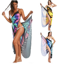 Boho Butterfly  Sexy Women Beach Cover Dress