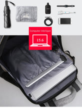 Men Backpack For 15.6 inches Laptop Backpack Large Capacity Stundet Backpack Casual Style Bag Water Repellent