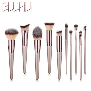 1PC Wooden Foundation Cosmetic Eyebrow Eyeshadow Brush Makeup Brush