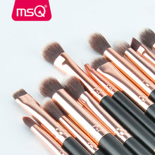 MSQ 12pcs Eyeshadow Makeup Brushes Set pincel maquiagem Pro Rose Gold Eye Shadow Blending Make Up Brushes Soft Synthetic Hair