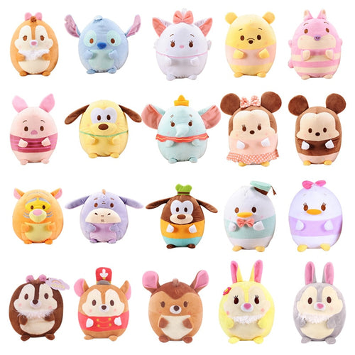18cm Japanese Cartoon Short Tsum Tsum  Plush Dolls