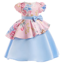 Baby Girl embroidery Silk Princess Dress
