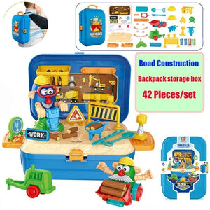 Miniature Pretend Play  Children Toys with Music  Toy Set