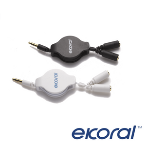 eK 2-way Splitter (3.5mm Audio)