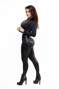 Black Catsuit Legging