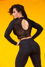 Black High Waist Legging