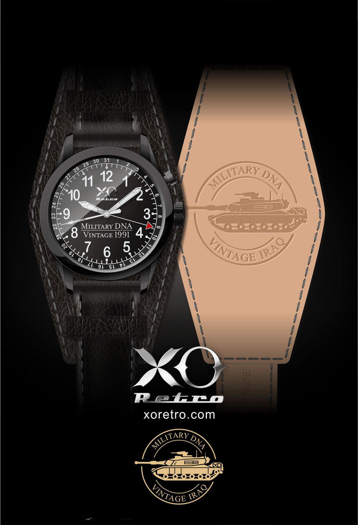 XO Retro 1991 M1 Abrams Tank Watch Collection