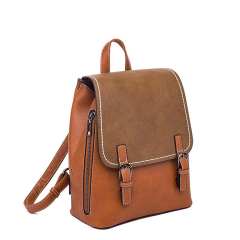 Women fashion Shoulder bag casual backpack - S&D