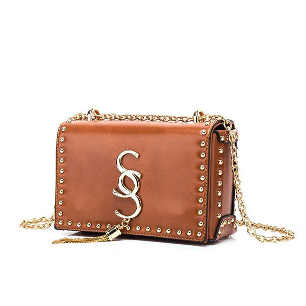 Women small square bag chain single shoulder bag