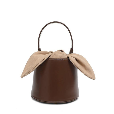 New Style Bucket Lady Bag with Butterfly Knot handbags