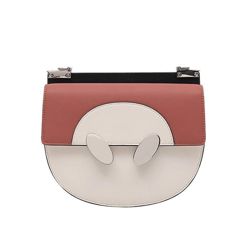 Women Fashion Coloured Single Shoulder SaddleBag