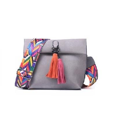 Women Crossbody Bag Shoulder Bags Female Handbags with colorful strap - S&D