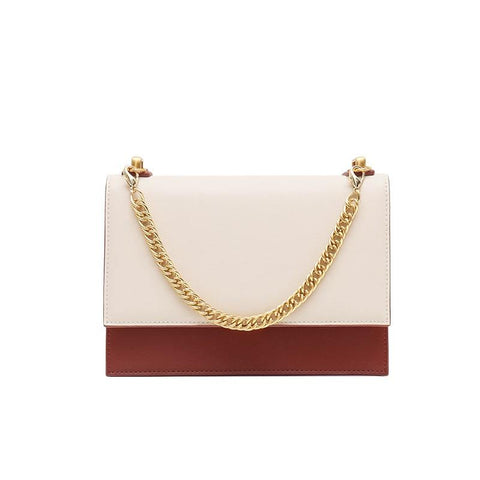 Small Square Bag with Chain Oblique Crossbody Bags