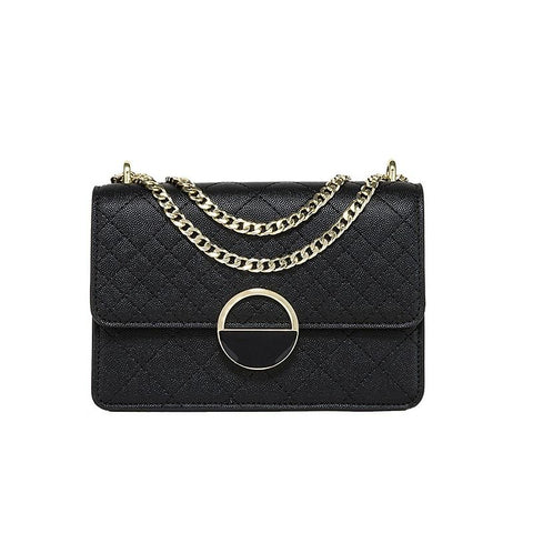 Women's new single shoulder bag small square bag