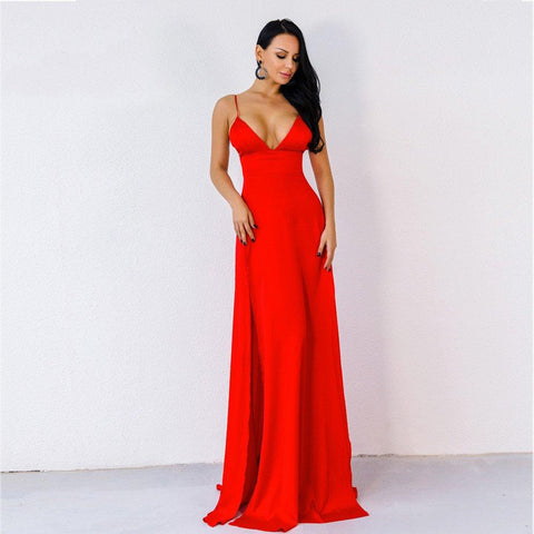 Women Clubwear Long Evening Dresses Party Maxi Dress
