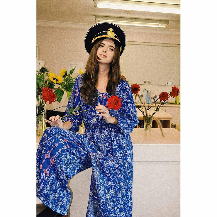 Riders Of The Storm Captain Capri Jumpsuit Jumpsuit Blossom By Three