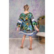Blue and Black Missy Tunic