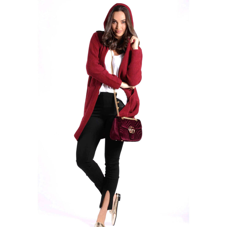 Long Hooded Jackets Knitted Jumpers and Jackets Bohemian Inspire