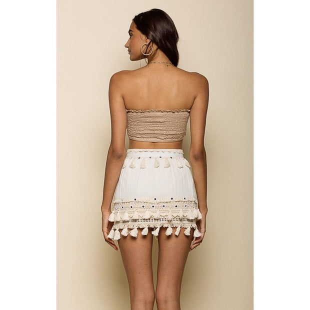 Raga Golden Bliss Mini Skirt