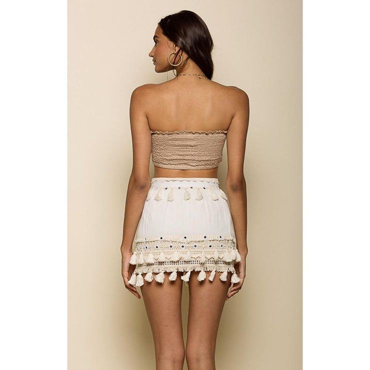 Golden Bliss Mini Skirt Skirt Raga