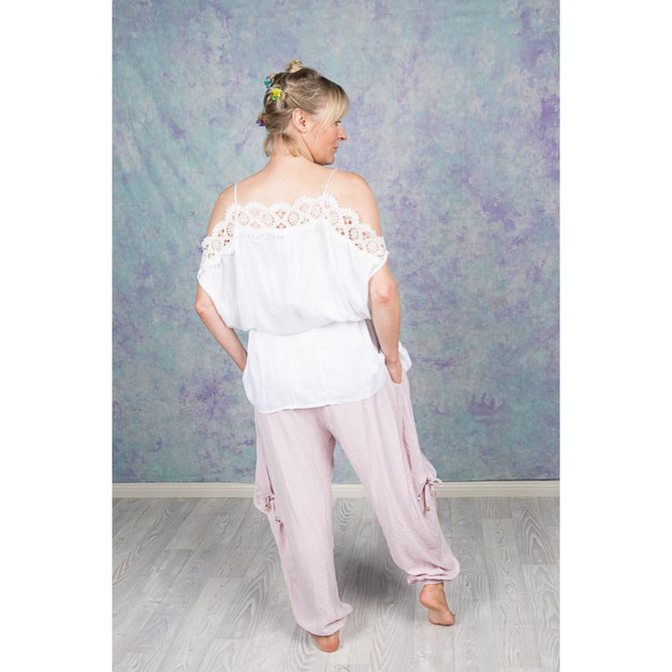 Genie Pants Pants Purity Lace