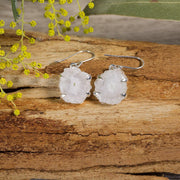 16mm Solar Quartz Flower Earrings Jewellery Bohemian Inspire Solar Quartz No 2