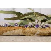 Amethyst Rough and formed stone Bracelet No1