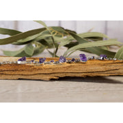 Amethyst Rough and formed stone Bracelet Jewellery Bohemian Inspire