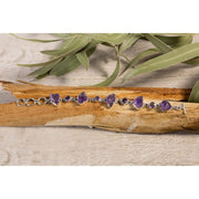 Amethyst Rough and formed stone Bracelet No2