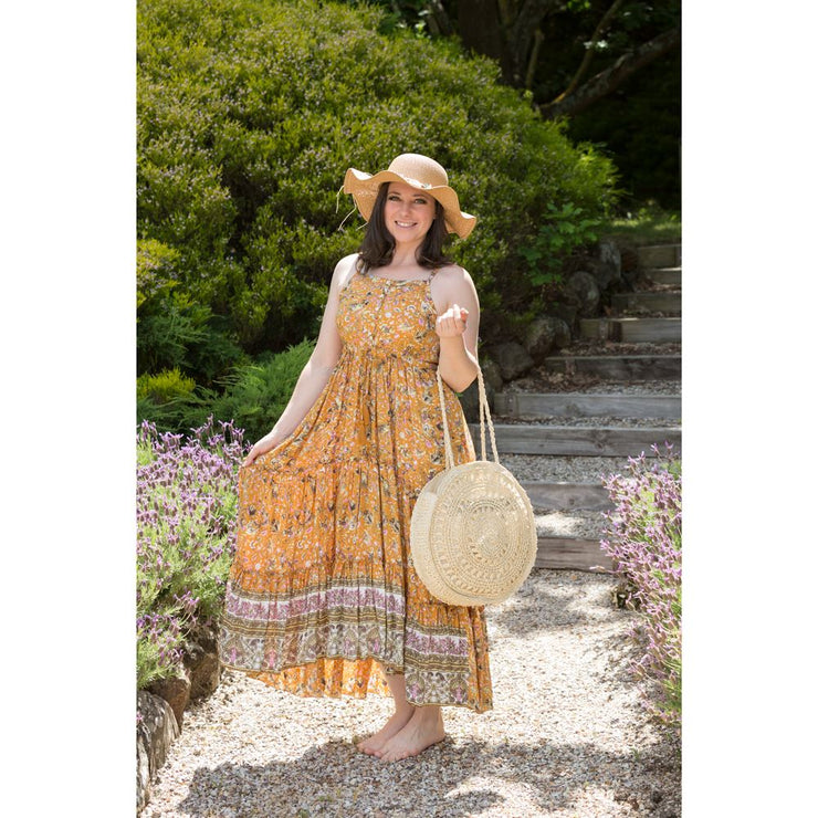 Dolly Dancer Maxi Dress Bohemian Inspire