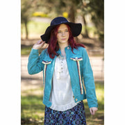 Fairy Tales Blue Denim Jacket Jackets Bohemian Inspire