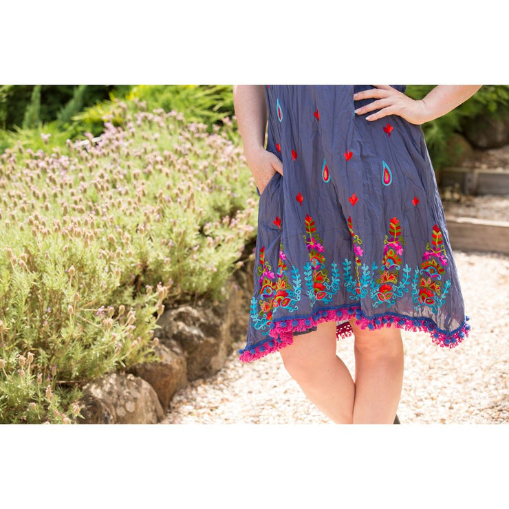Indigo Bliss Dress Dress Bohemian Inspire