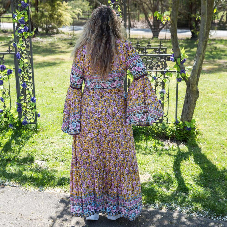 Sakura Madison Wrap Maxi Dress Bohemian Inspire