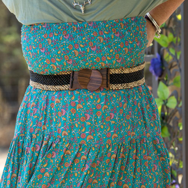 Aqua Maxi Skirt or Strapless Dress Dress Pink Diamond