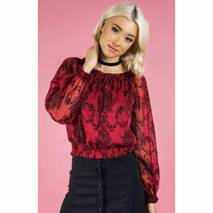 Crimson Blouse Crop Top Tops Style State