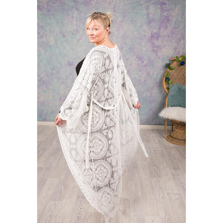 White Lace Cape