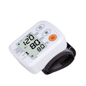 Wrist Blood Pressure Monitor and Pulse Rate Measurement