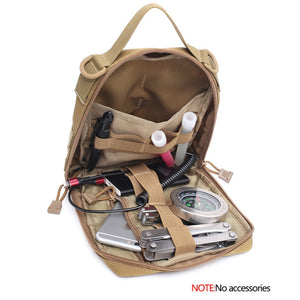 Outdoor EDC Molle Tactical Pouch Bag Emergency First Aid Kit Bag