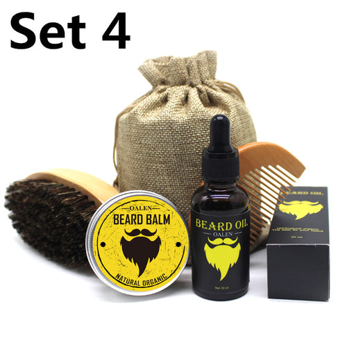BellyLady 5Pcs/Set Men Moustache Care kit