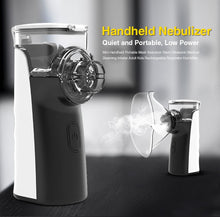 BGMMED Mini Portable nebulizer inhaler for Kids and Adults