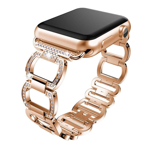 Alonea Diamonds Stainless Steel Bracelet Watch Band Strap For Apple Series 3...