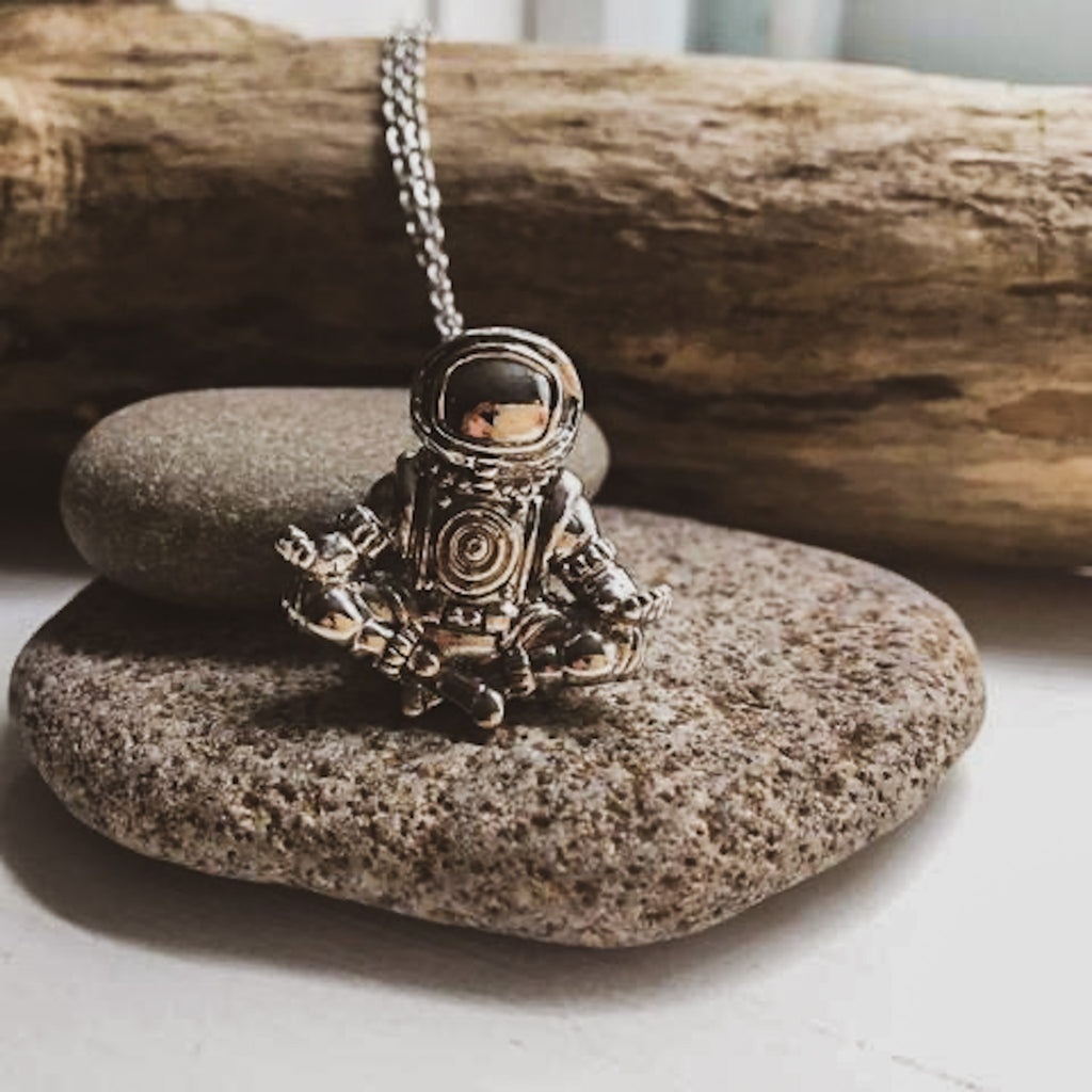 Dreamdelic Spaceman Necklace