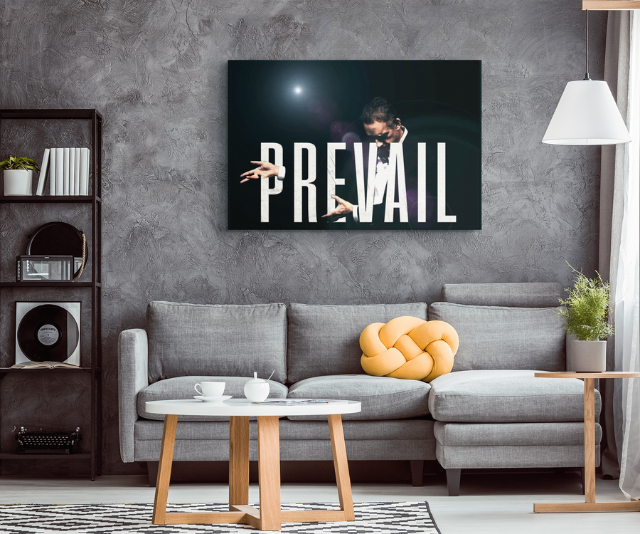 PREVAIL - Jordan B. Peterson Canvas