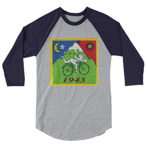 LSD Bicycle day - 3/4 sleeve raglan