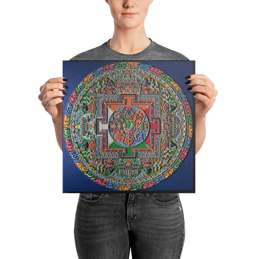 Jungian Mandala Photo paper poster