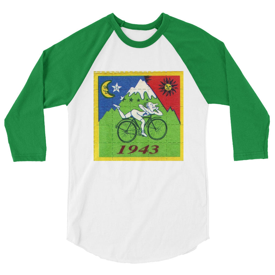 LSD Bicycle day - 3/4 sleeve raglan shirt