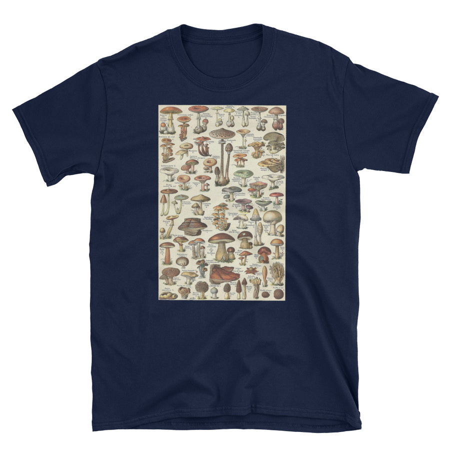 Mycology Diagram - Short-Sleeve Unisex T-Shirt